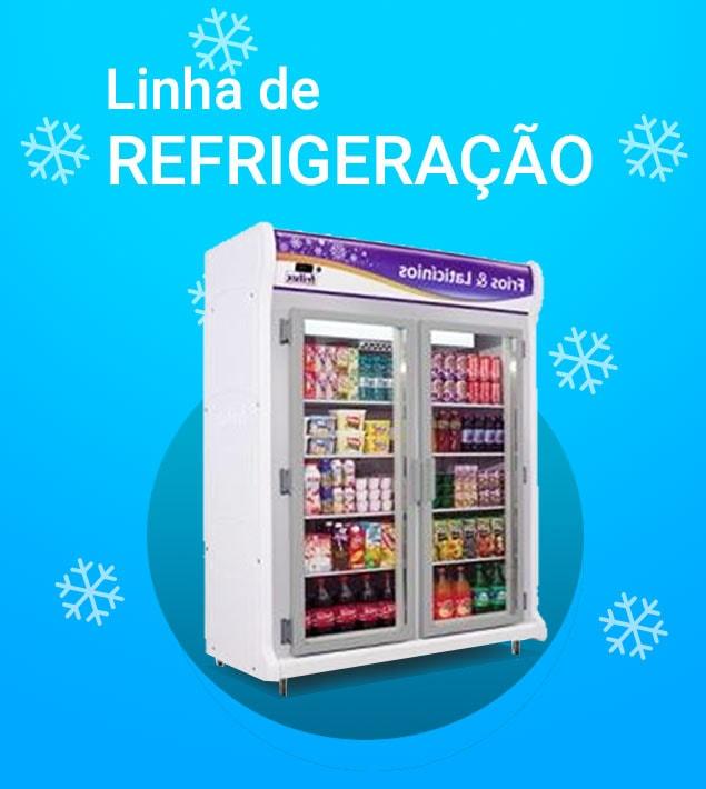 Linha de Refrigeração Mafer Equipamentos para Gastronomia