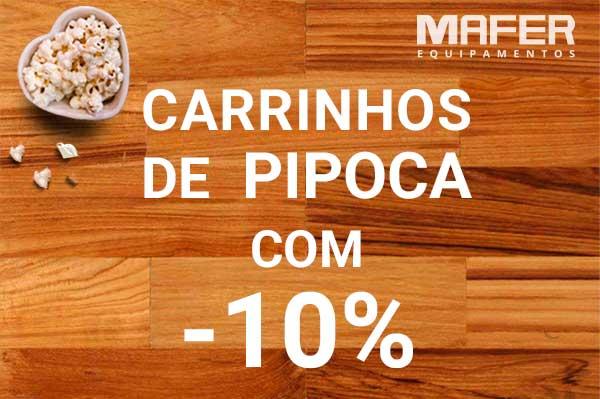 Oferta carrinhos de pipoca Mafer Equipamentos para Gastronomia