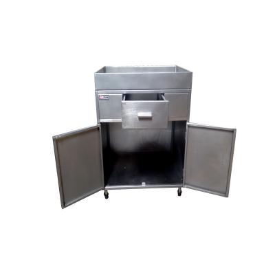 Detalhes do produto Gabinete para corte de frango com gaveta - 80x70 - Promaq