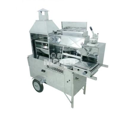 Detalhes do produto Carrinho 5 em 1 - Churrasco, Hot Dog, Pastel, Batata Frita e Lanche - R2
