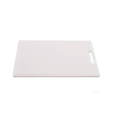 Detalhes do produto Tábua de Corte 0,8x30x40cm com pegador branco - Solrac