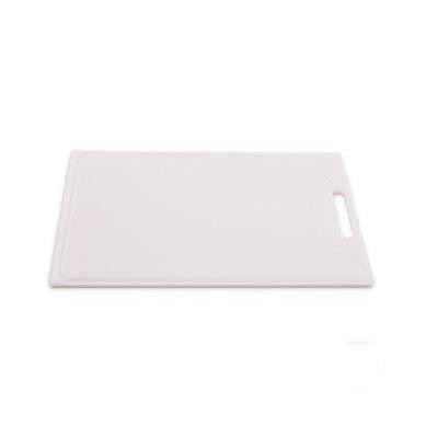 Detalhes do produto Tábua de corte 1,0x40x50cm com pegador branco - Solrac
