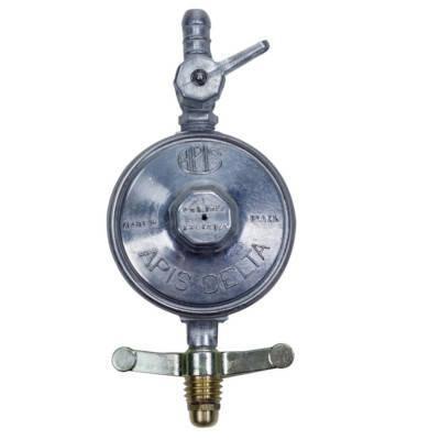 Detalhes do produto Regulador de Gás Apis Delta Pequeno - Direto