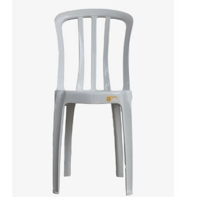 Cadeira de Plástico Bistrô Classe B Branca - Rei do Plástico - Foto 1