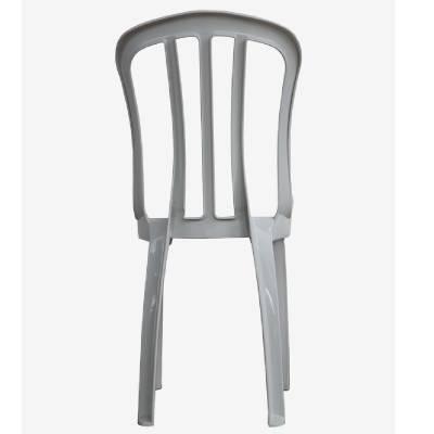 Cadeira de Plástico Bistrô Classe B Branca - Rei do Plástico - Foto 3