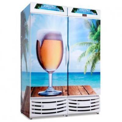 Detalhes do produto Refrigerador de Cerveja Porta Cega RF019 - Frilux