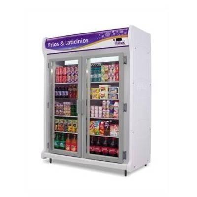 Detalhes do produto Refrigerador Expositor Vertical Linha Luxo RF026 - Frilux