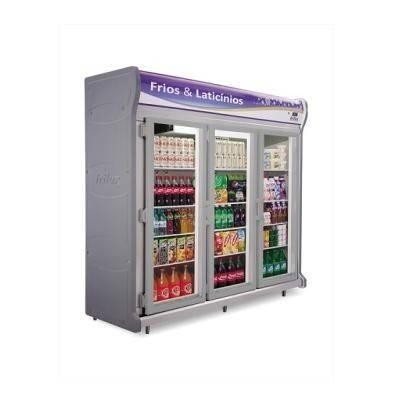 Detalhes do produto Refrigerador Expositor Vertical Linha Luxo RF027 - Frilux