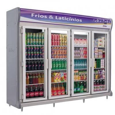 Detalhes do produto Refrigerador Expositor Vertical Linha Luxo RF028- Frilux
