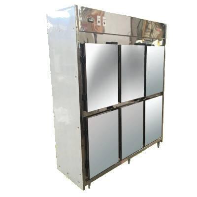 Detalhes do produto Geladeira Industrial 6 portas - Refririo