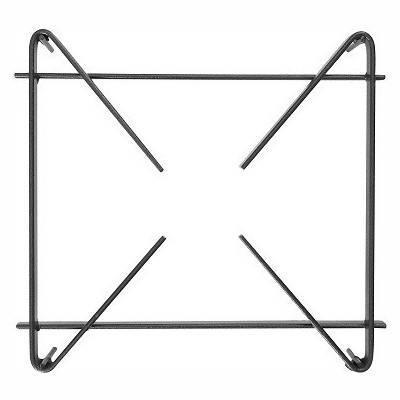 Detalhes do produto Grelha 30x30 para fogão - Aço Carbono - MR Fogões