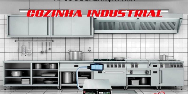 Tipos de balança para cozinha industrial