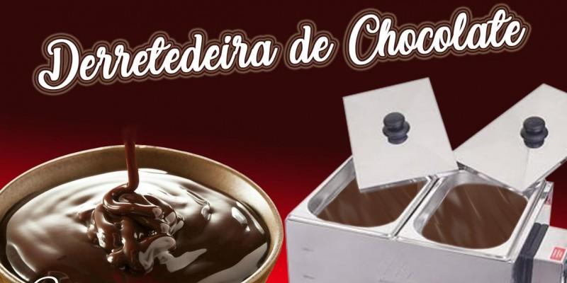Dicas para usar Derretedeira de Chocolate