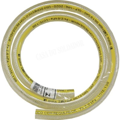 Detalhes do produto Mangueira de Gás Flexível 1 Metro - Ibira