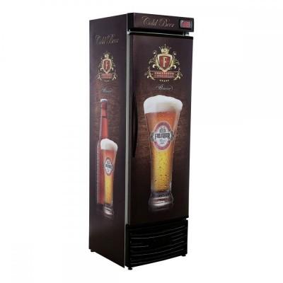 Detalhes do produto Cervejeira Vertical Slim Porta Cega RF014 - Frilux