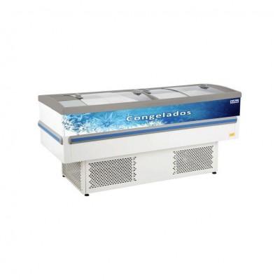Detalhes do produto Ilha para Congelados Vidro Curvo RF030 - Frilux