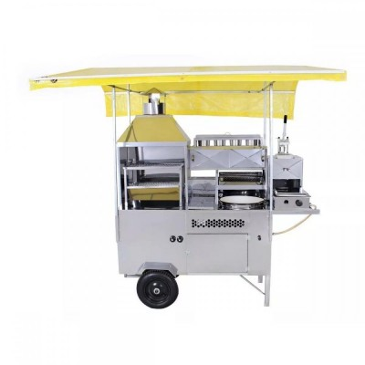 Carrinho 5 em 1 - Churrasco, Hot Dog, Pastel, Batata Frita e Lanche - R2 - Foto 1