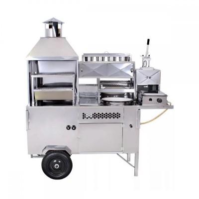 Carrinho 5 em 1 - Churrasco, Hot Dog, Pastel, Batata Frita e Lanche - R2 - Foto 4