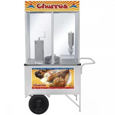 Detalhes do produto Carrinho de Churros com 1 doceira - Armon
