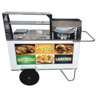 Detalhes do produto Carrinho de Pastel, Hot Dog e Lanche - Alsa