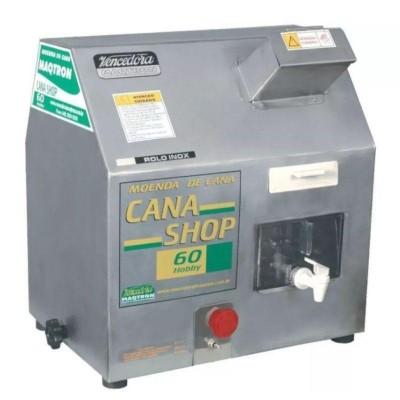 Detalhes do produto Moenda de cana - Cana Shop 60 Elétrica - Maqtron