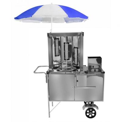 Detalhes do produto Carrinho para churrasco grego - Cefaz - L 20 P/GS