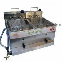 Detalhes do produto Fritadeira Flex 2 cubas Linha Econômica - Ital Inox