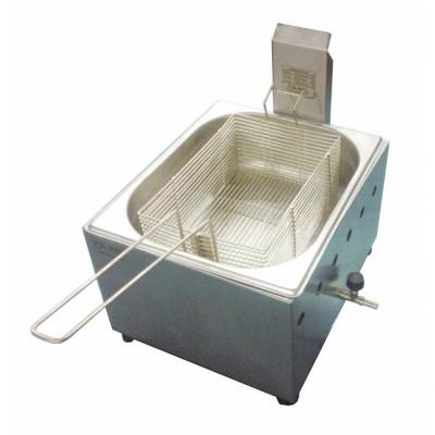 Detalhes do produto Fritadeira a gás Ital Inox de mesa 5 litros - 1 cuba