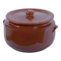 Detalhes do produto Caçarola de Barro com Tampa 4100ml N°4 - Casserole