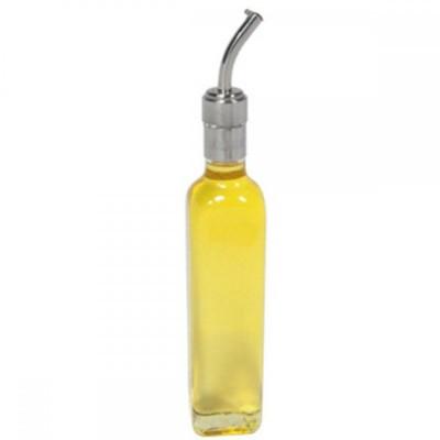 Detalhes do produto Galheta de Azeite Vidro e Inox 250ml - Allissan