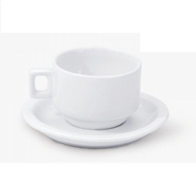 Detalhes do produto Xícara de Café com Pires 100ml 6 Unidades - Alfa