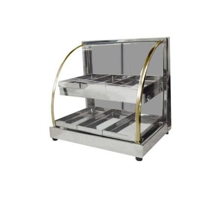 Detalhes do produto Estufa de Salgados Mini Dupla 6 Bandejas 127V  - Patrinox