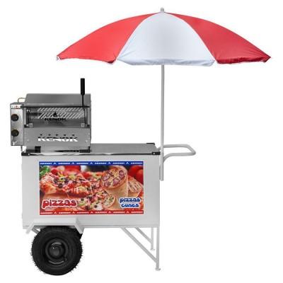 Detalhes do produto Carrinho de Pizza, Mini Pizza e Pizza Cone - Armon