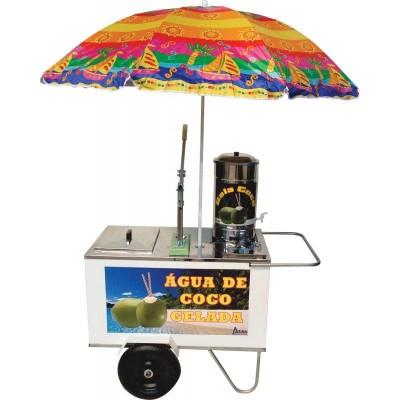 Detalhes do produto Carrinho para Água de Coco gelada - Alsa