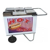 Detalhes do produto Carrinho para Hot Dog - Tampa de Aço e Toldo - Alsa