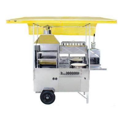 Detalhes do produto Carrinho 4 em 1 -  Churrasco, Pastel, Hot Dog e Batata - R2