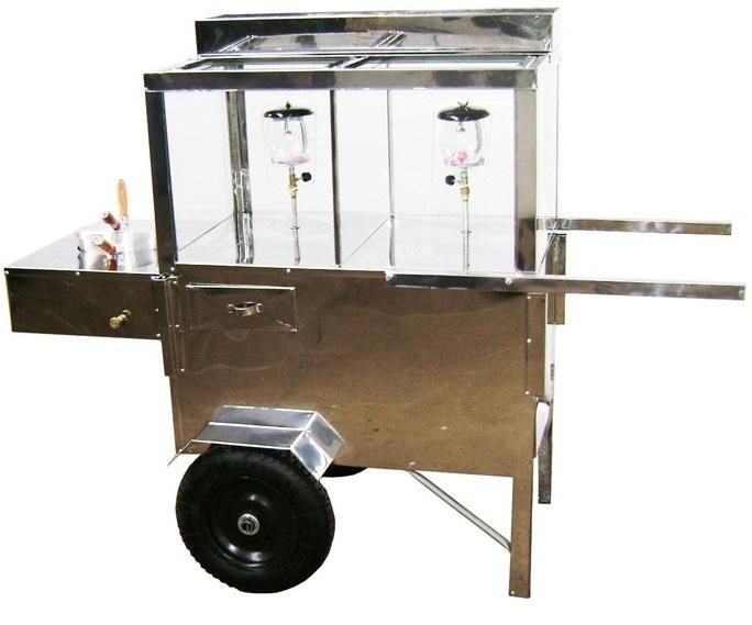 Como montar um carrinho de pipoca