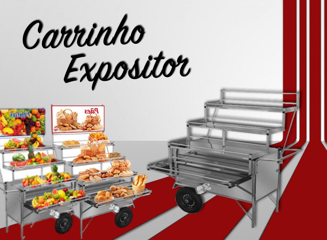 Você conhece o carrinho expositor?