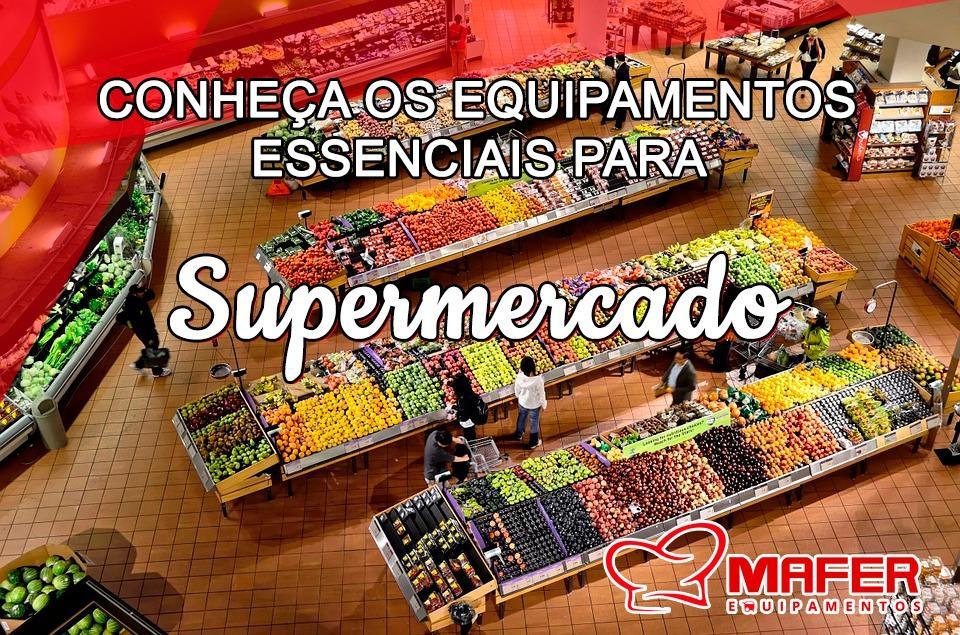 Conheça os equipamentos essenciais para supermercado
