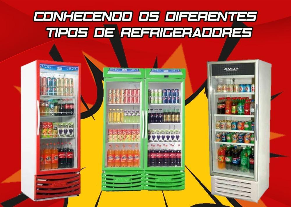 Conhecendo os diferentes tipos de refrigeradores