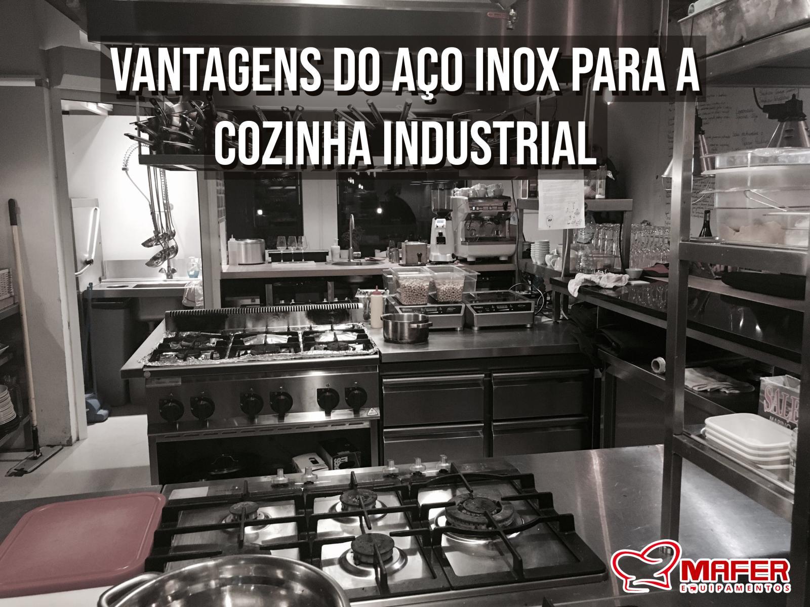 Vantagens do Aço Inox para a cozinha industrial