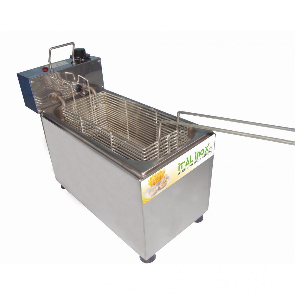 Fritadeira Elétrica Industrial Linha Econômica 220V - Ital Inox