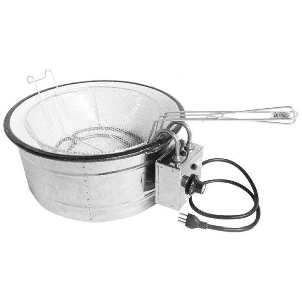 Tacho de Fritura Elétrico com Peneira 3,5 litros - 220v - Patrinox