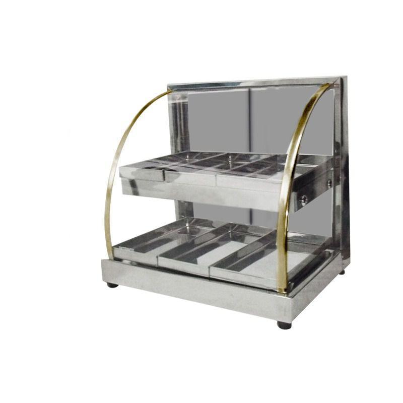 Estufa de Salgados Mini Dupla 6 Bandejas 127V  - Patrinox
